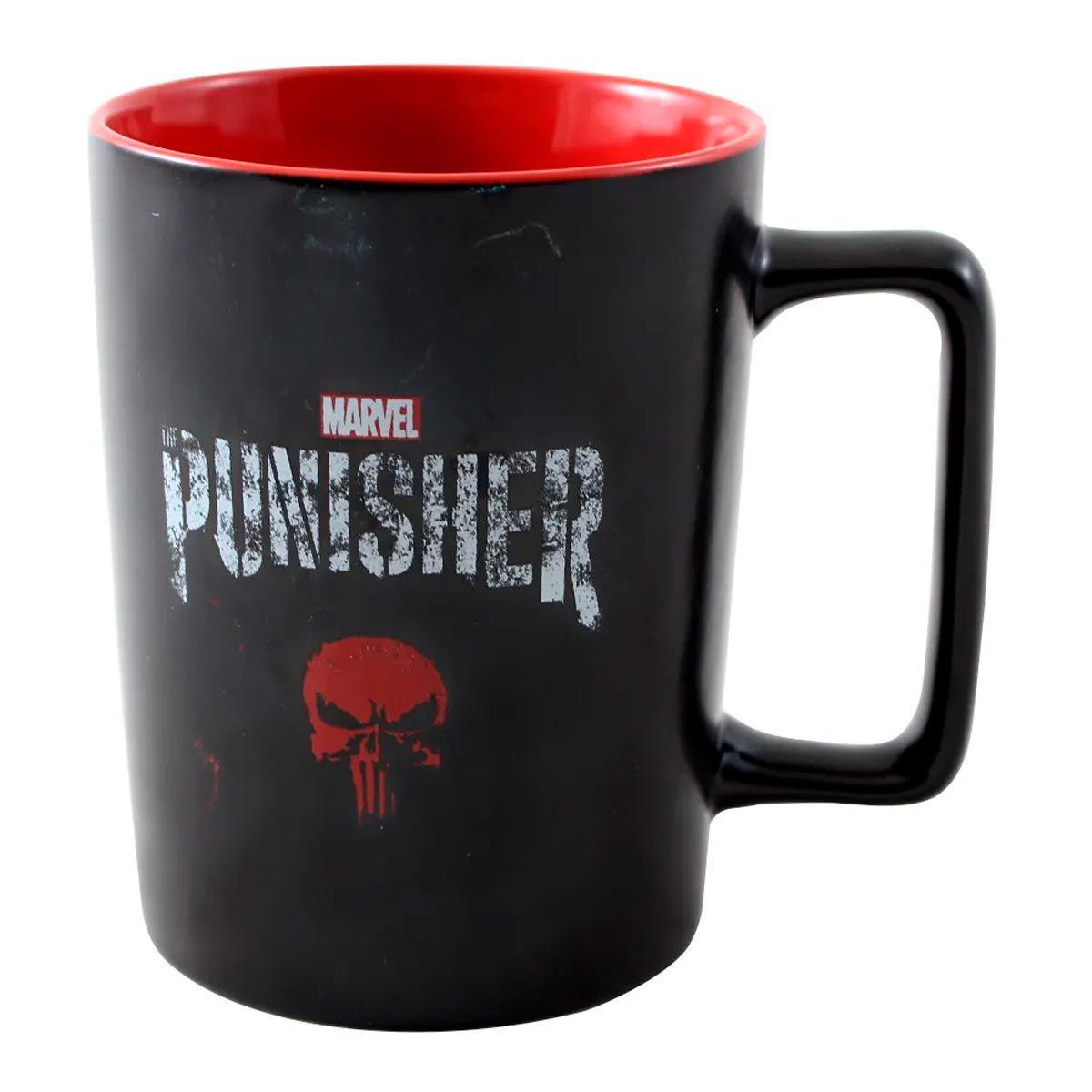 Caneca Alça Quadrada Justiceiro The Punisher