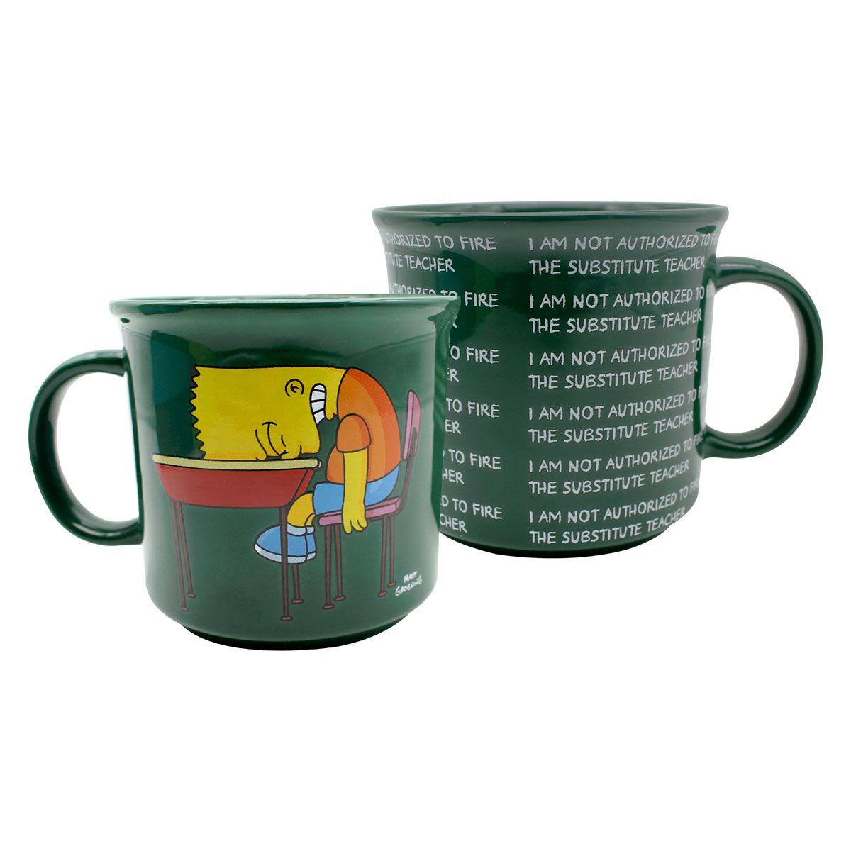 Caneca Bart Lousa Os Simpsons 350 ml