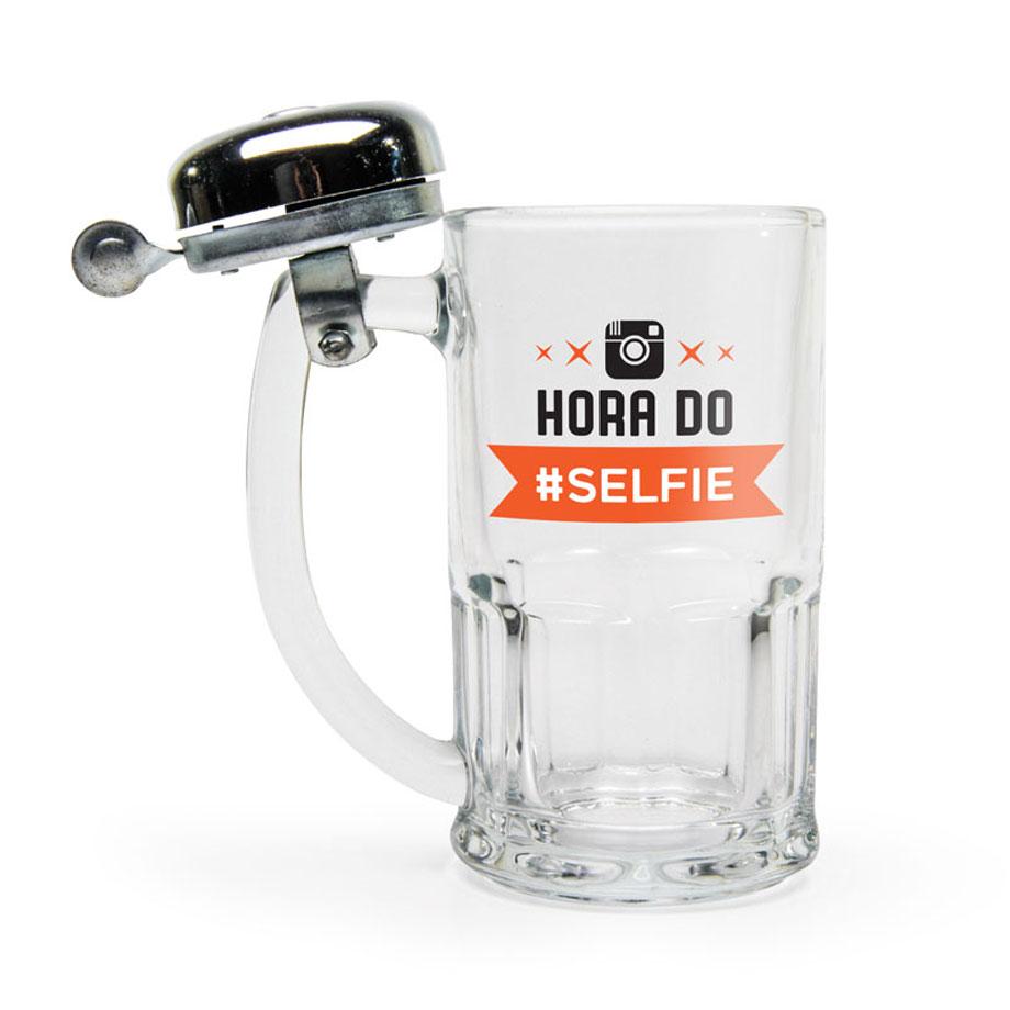 Caneca Campainha Hora da Selfie