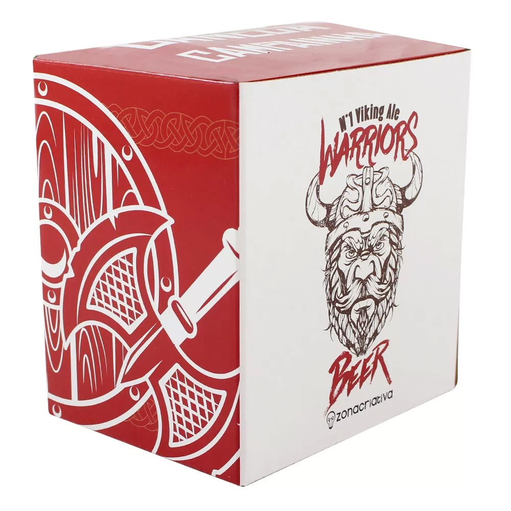 Caneca Campainha Warriors Beer