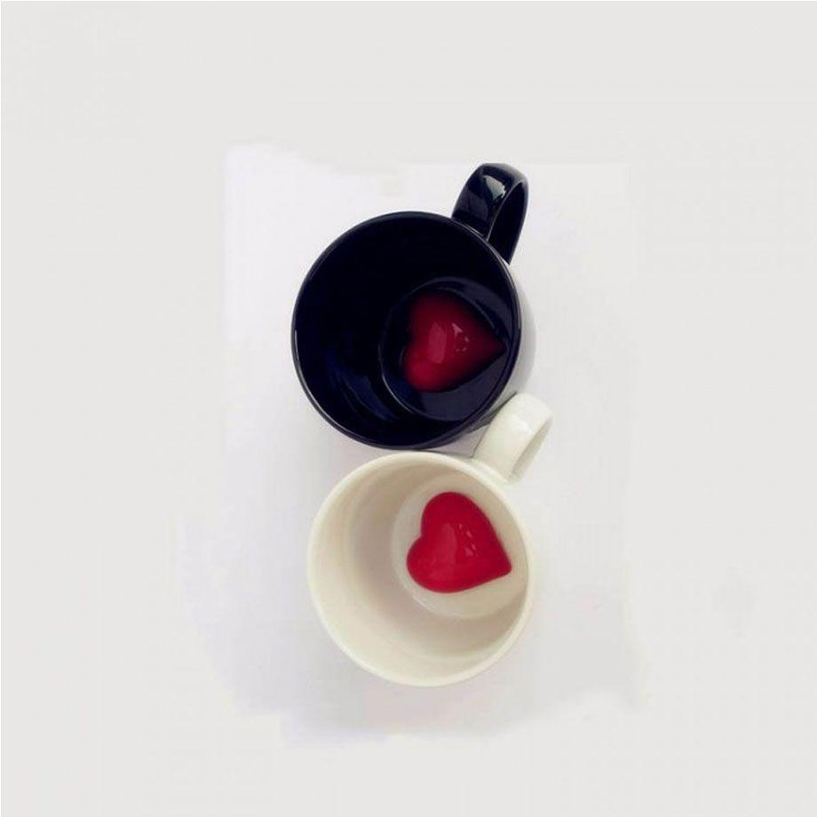 Caneca Coração Latente - Branca