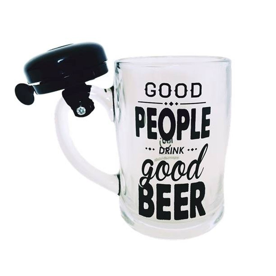 Caneca De Chopp Campainha Cerveja Boa