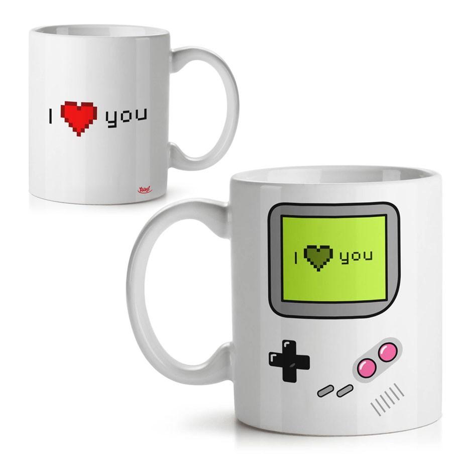 Caneca Game I Love You - Te amo