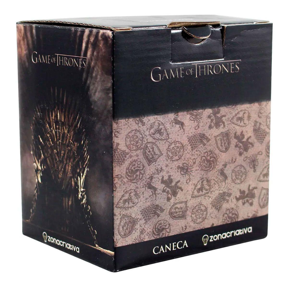 Caneca Game Of Thrones - Escudo Lannister
