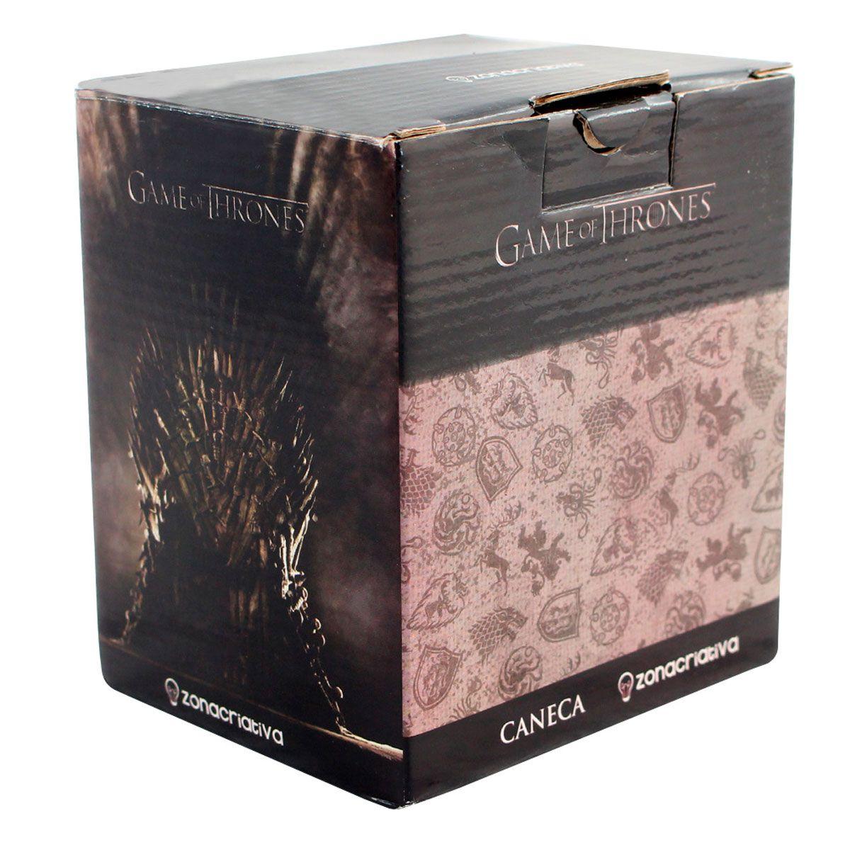 Caneca Game Of Thrones - Escudo Targaryen