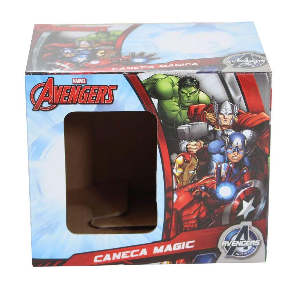 Caneca Mágica Termossensível Hulk Smash Marvel