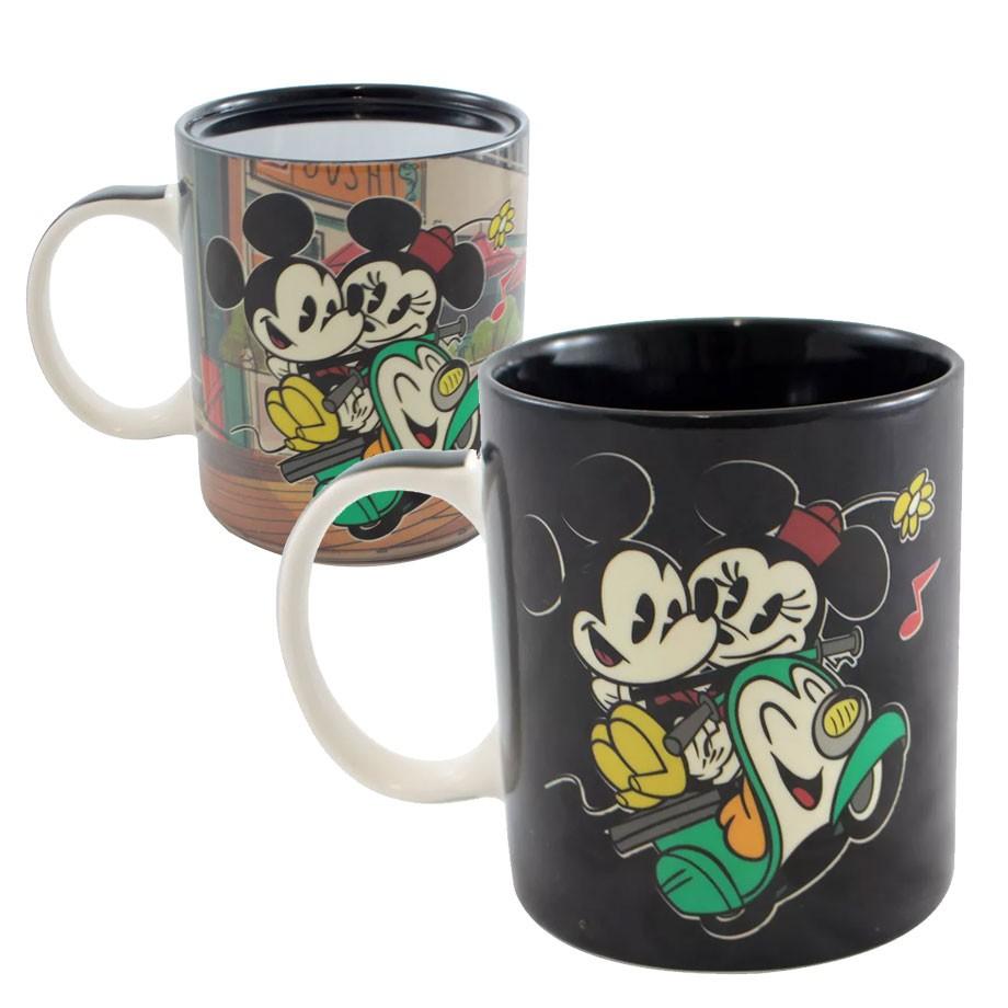 Caneca Mágica Termossensível Mickey e Minnie