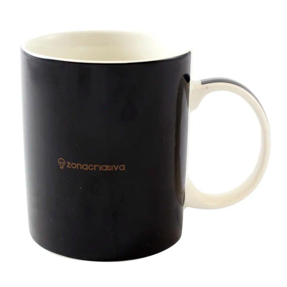 Caneca Mágica Termossensível Tanque Cheio - Café