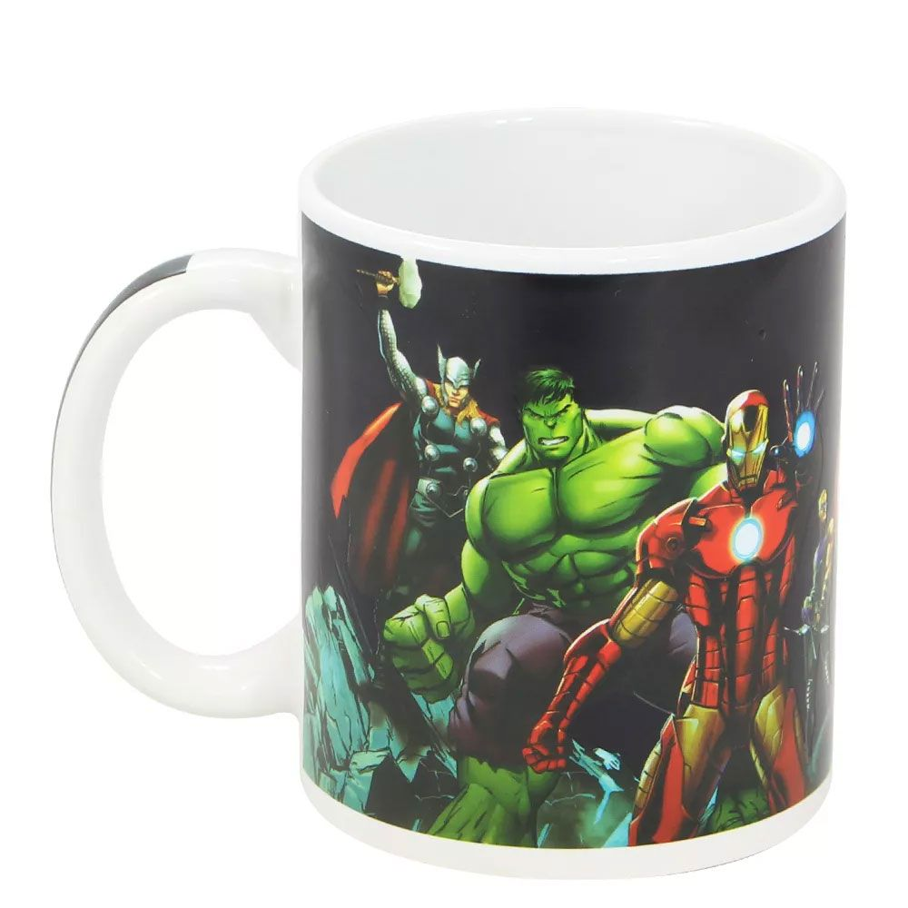 Caneca Mágica Termossensível Vingadores Avengers Marvel