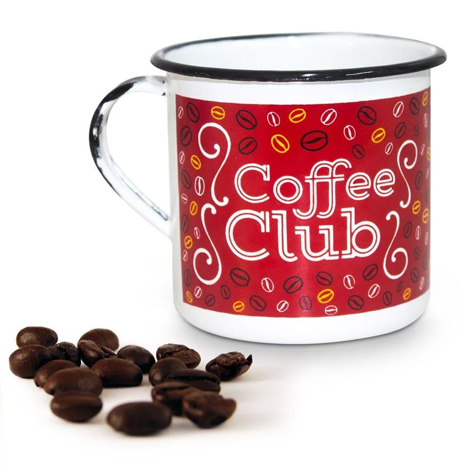 Caneca metal G Coffee Club