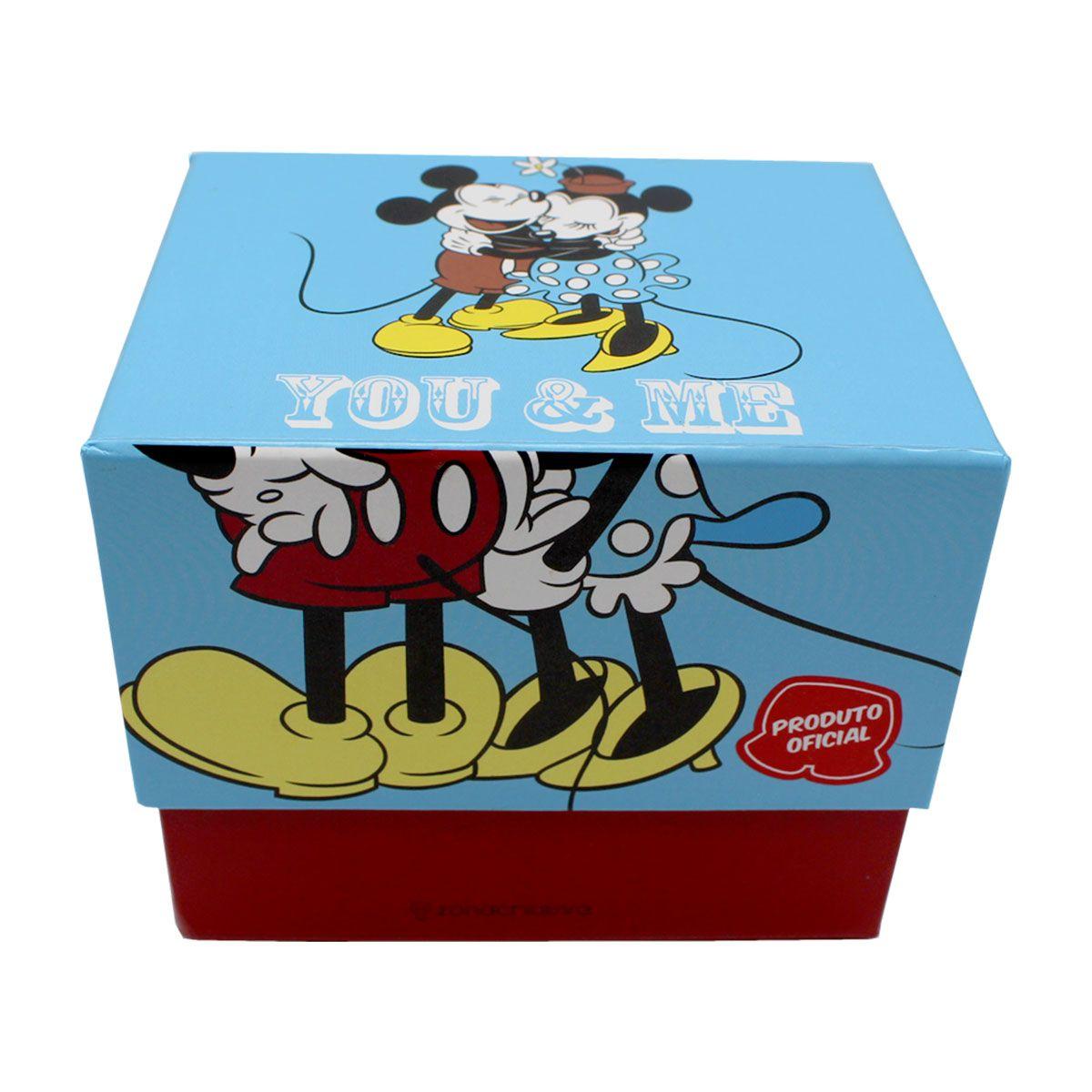 Caneca Mickey e Minnie You and Me 350 ml