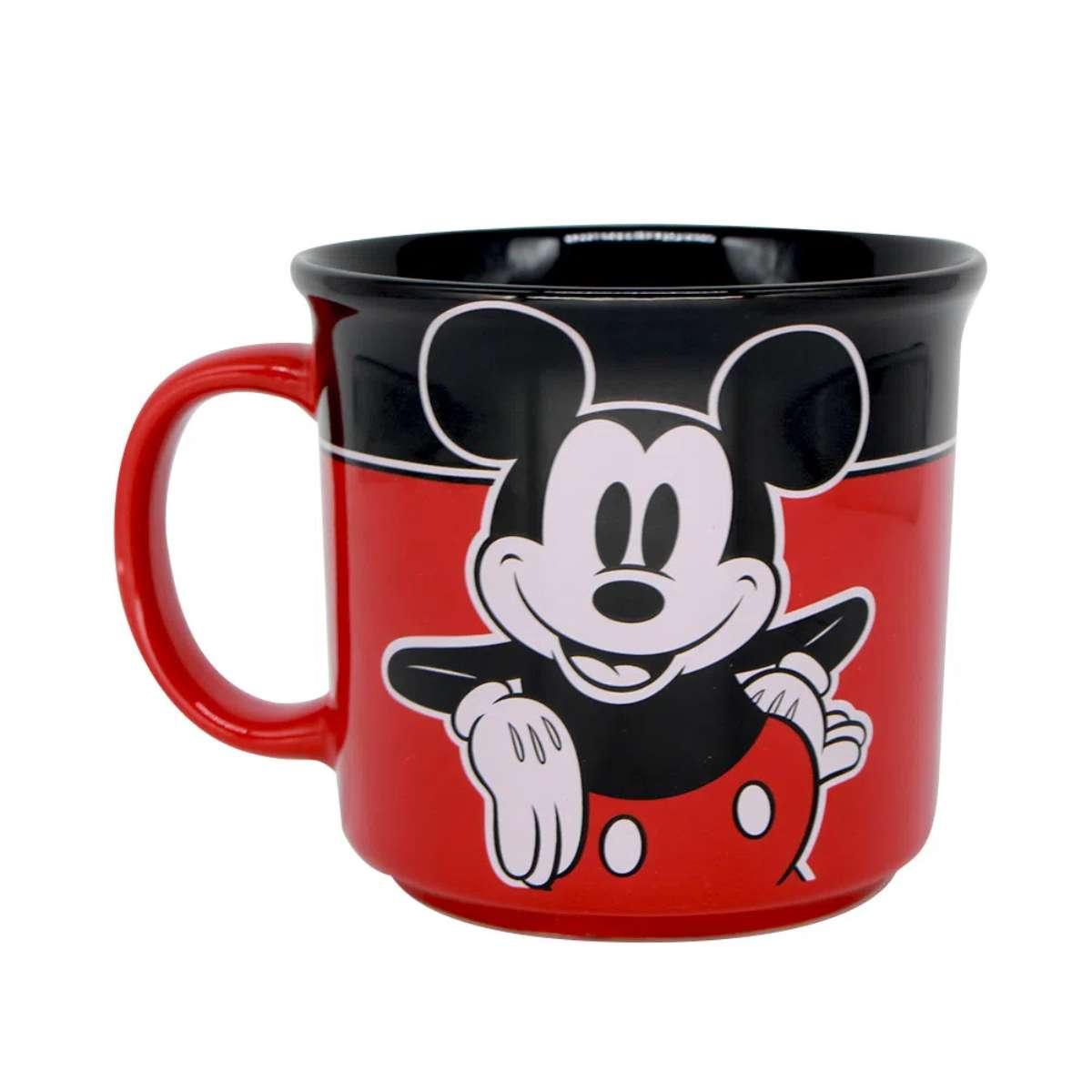 Caneca Mickey Xadrez Walt Disney