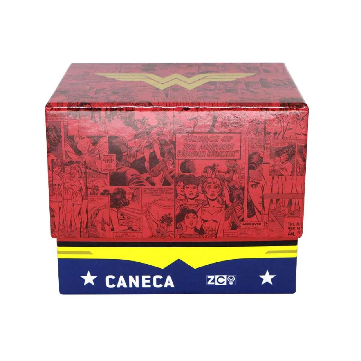 Caneca Mulher Maravilha Logo HQ DC Comics