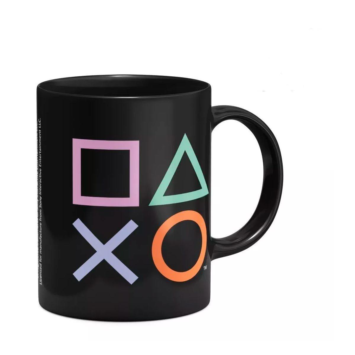 Caneca Plástica Playstation 400 ml