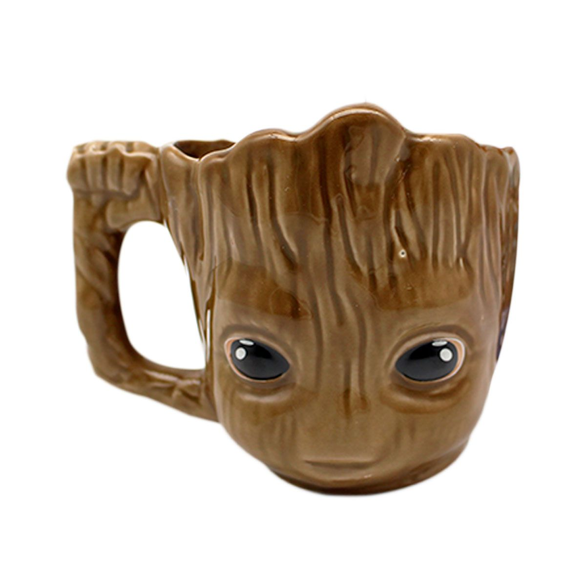 Caneca Porcelana 3D Baby Groot - 350 ml