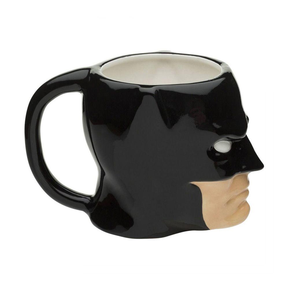 Caneca Porcelana 3D Batman Face