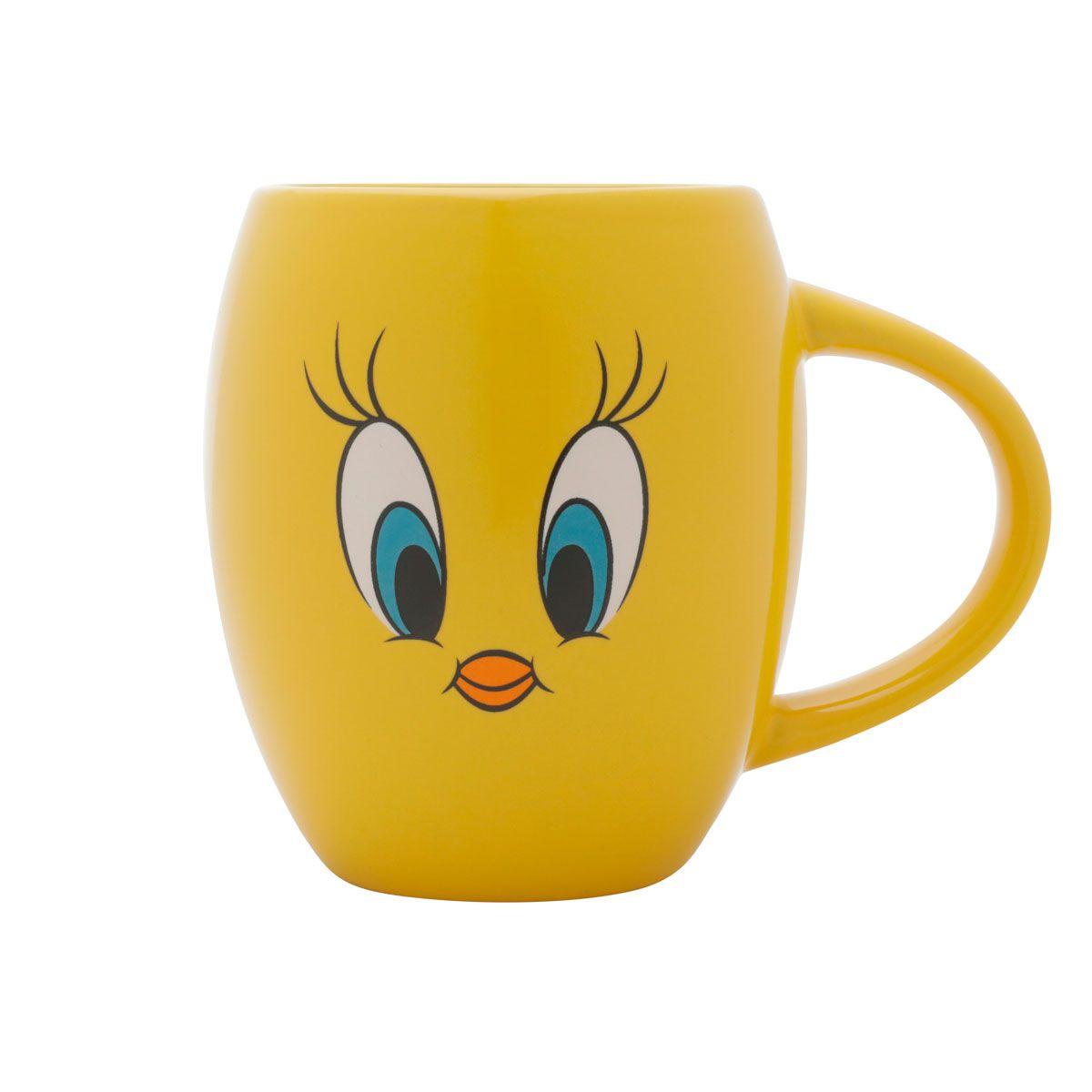 Caneca Porcelana Bulging Piu Piu Looney Tunes