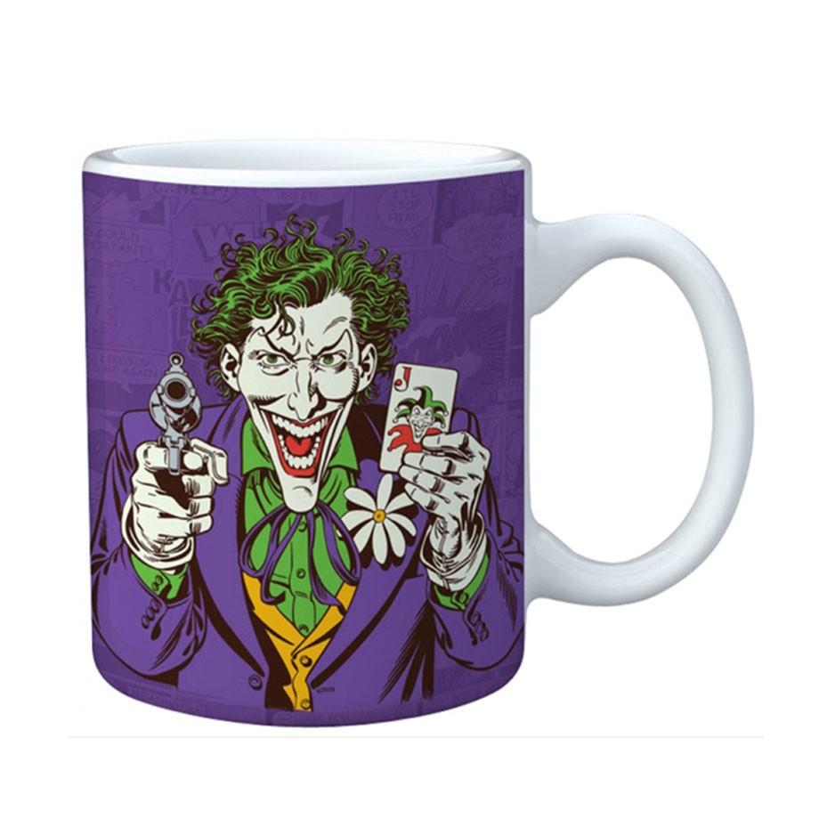 Caneca Porcelana DC Coringa Joker