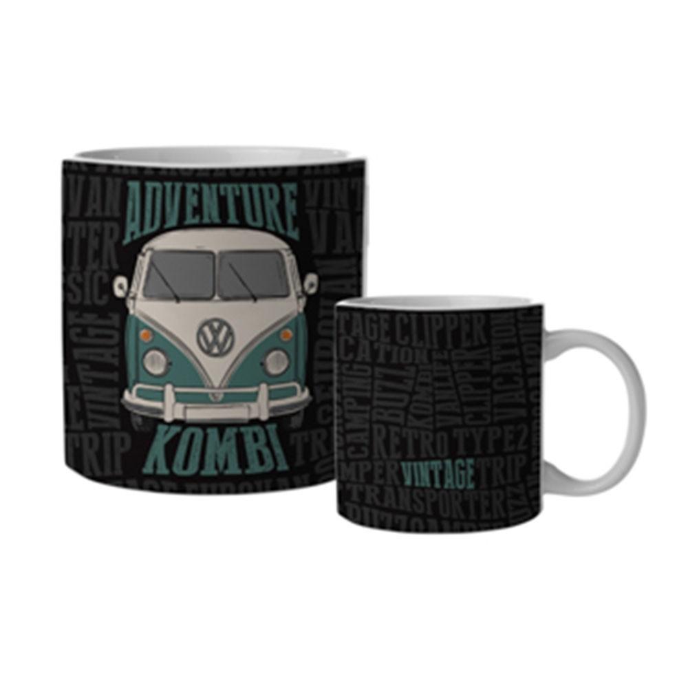 Caneca Porcelana Kombi Adventure - Volkswagen