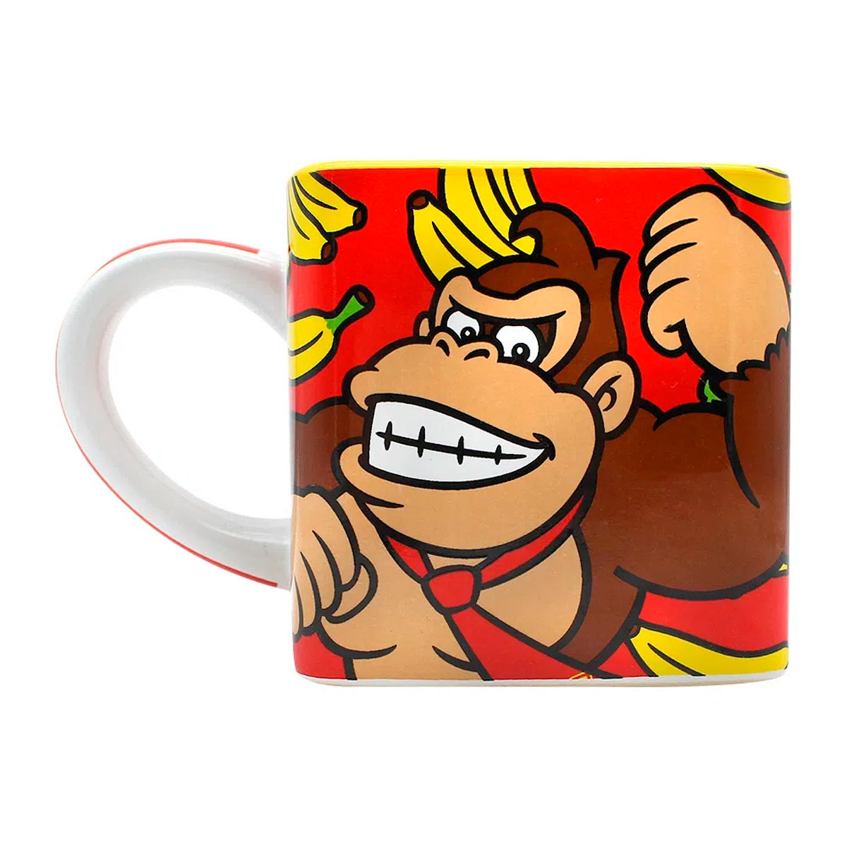 Caneca Quadrada Cubo Donkey Kong