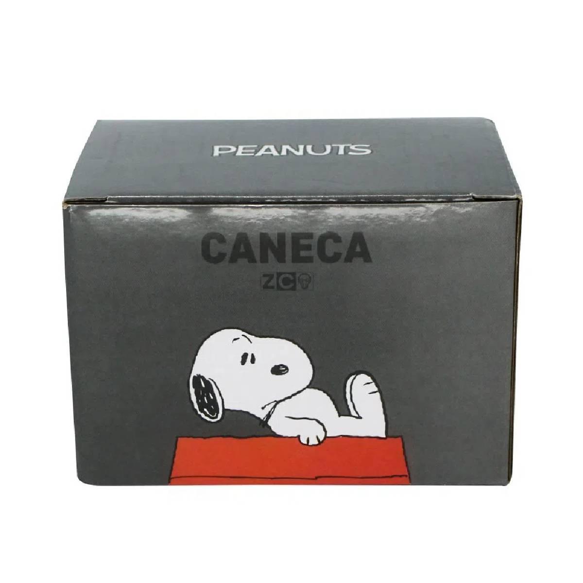 Caneca Quadrada Cubo Snoopy Get Going