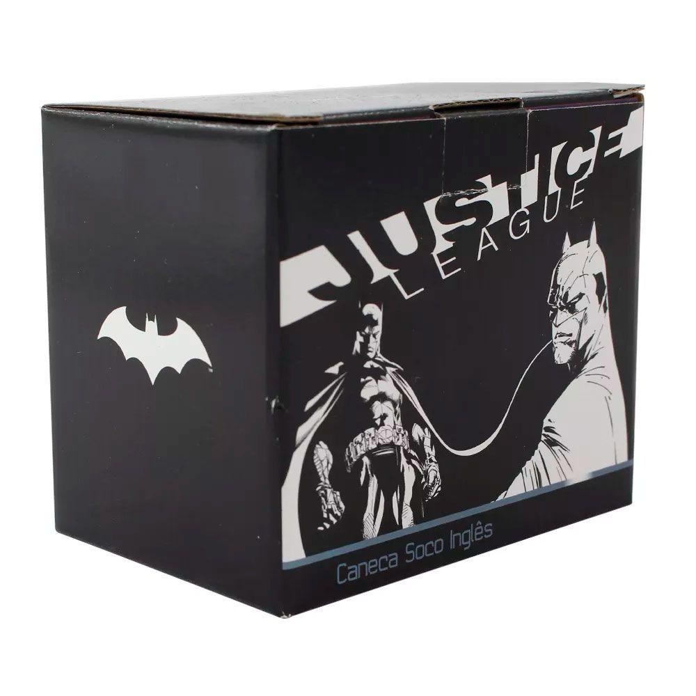 Caneca Soco Inglês Batman Logo DC Comics - Liga da Justiça