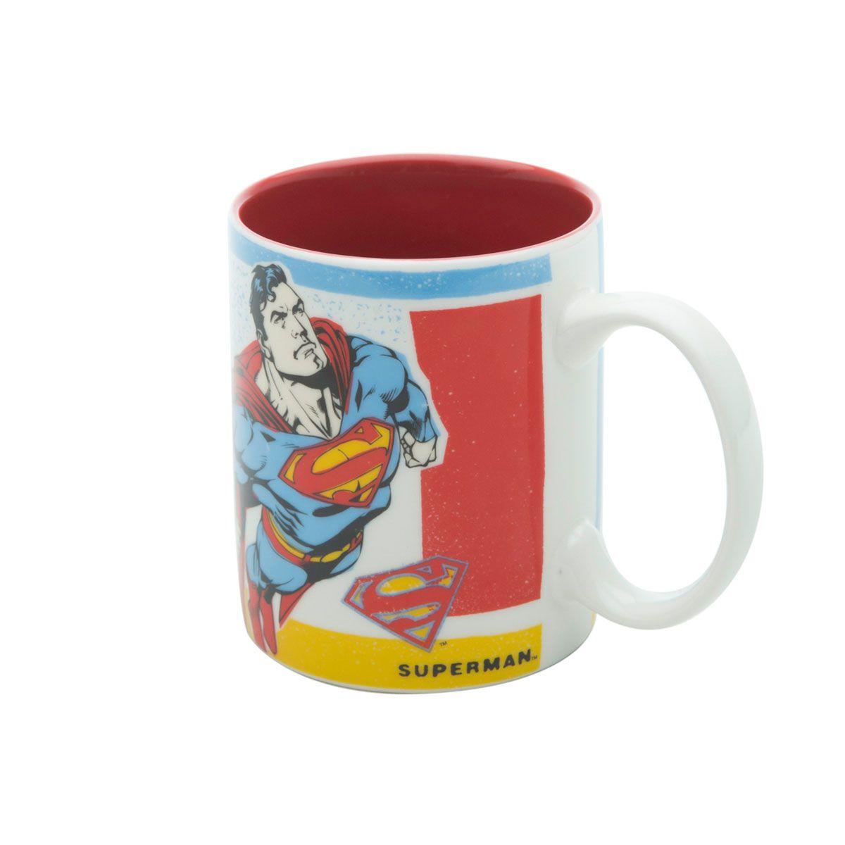 Caneca Superman Flying Colorido DC Comics