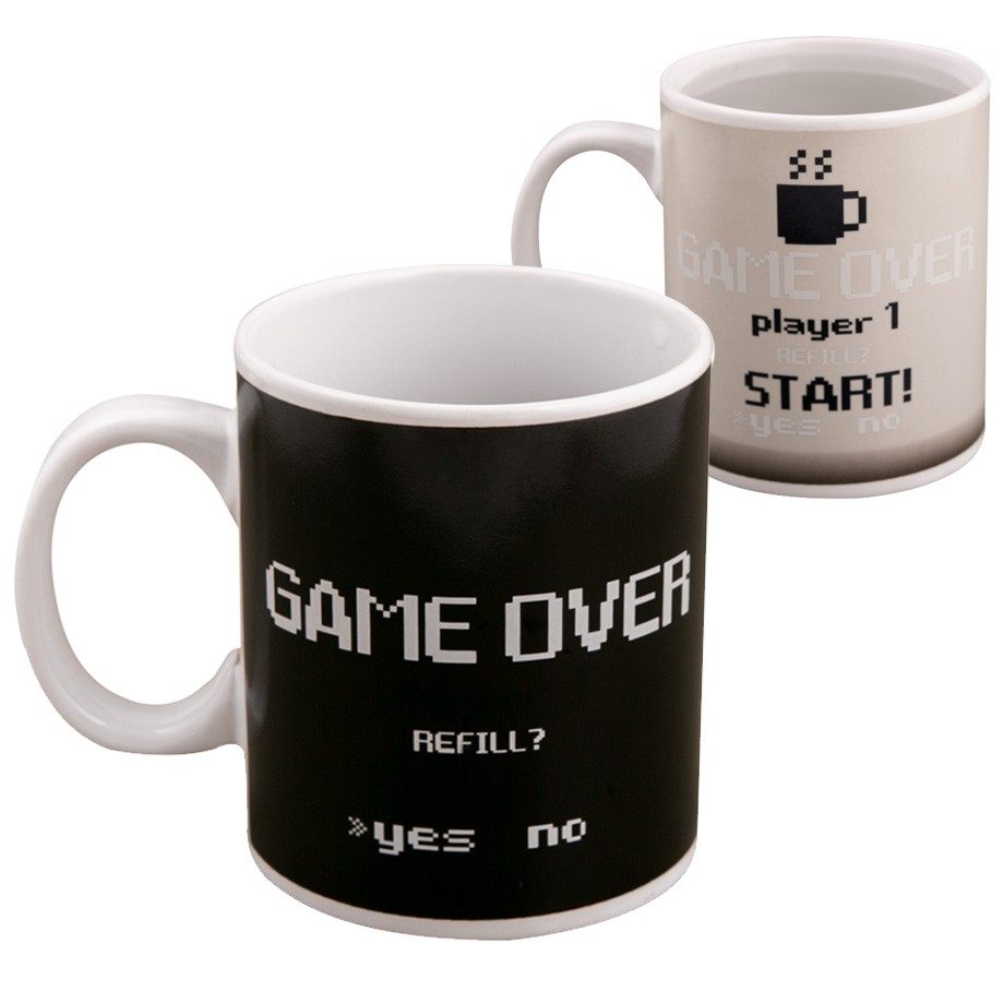 Caneca Termossensivel Gamer Game Over Energy