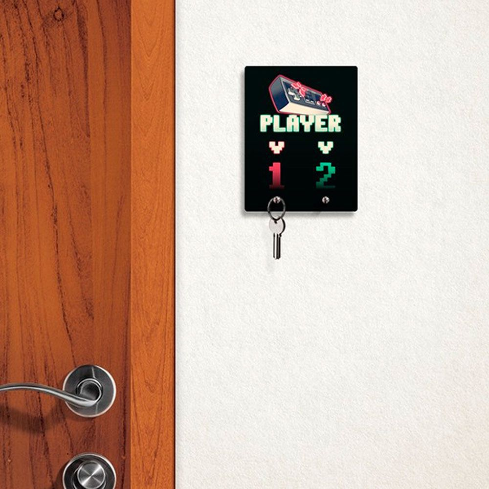 Canecas, Porta Chaves e MousePads Gamer Player 1 e 2