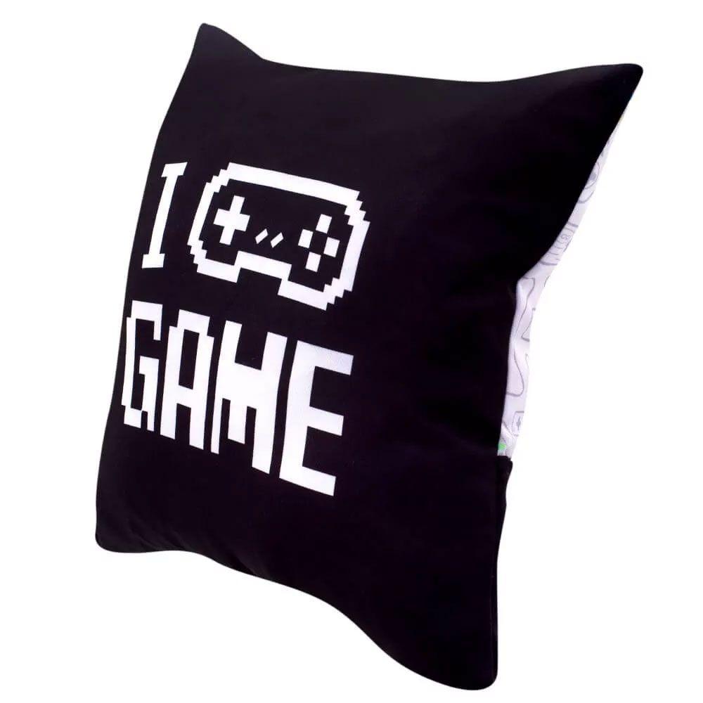 Capa de Almofada Porta Controle - Game Geek