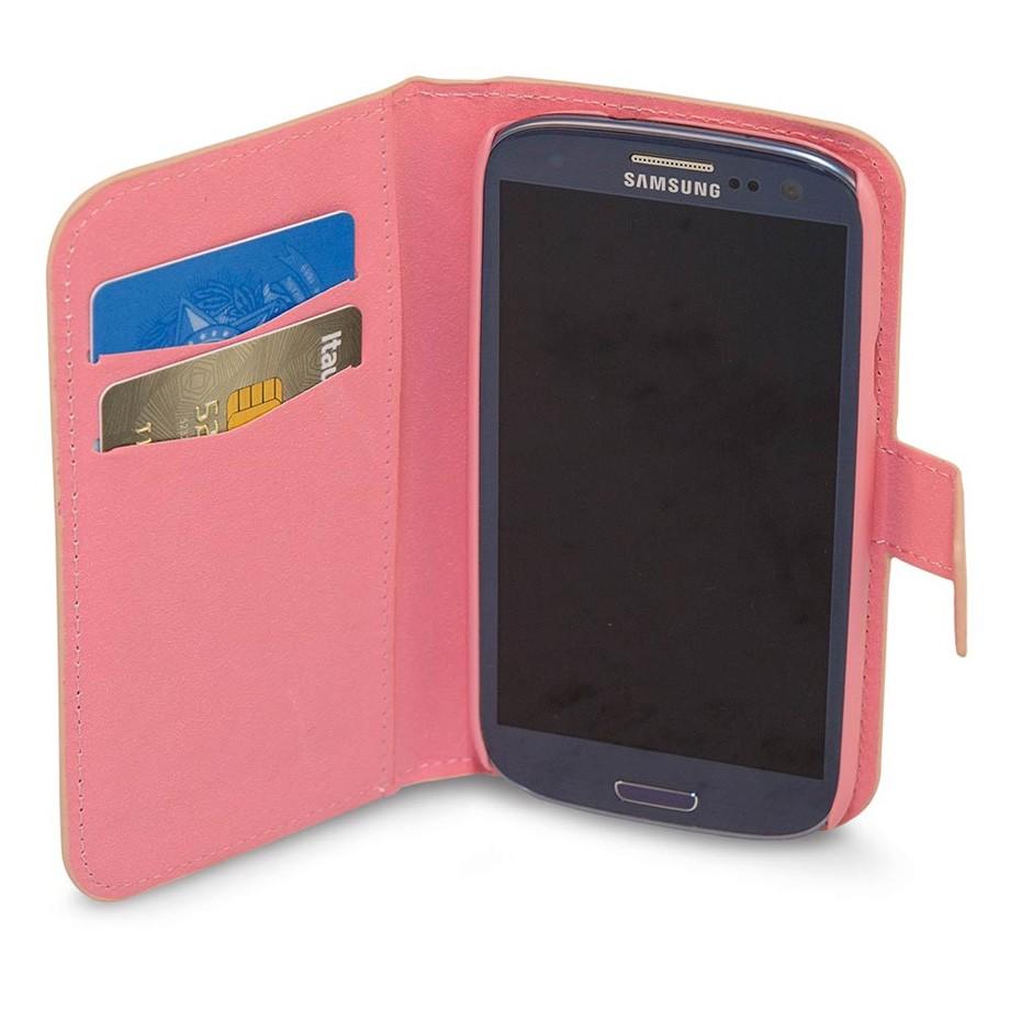 Capa para Celular Galaxy S3 Carteira - Luxo
