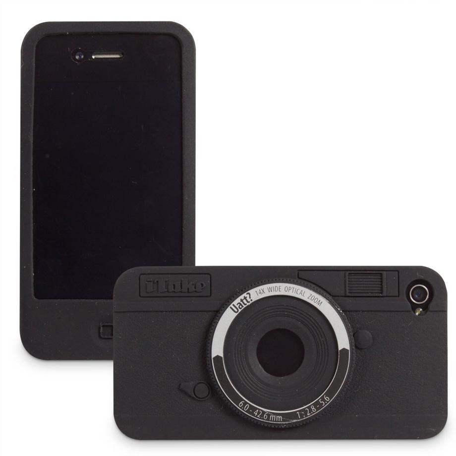 Capa Para Celular Iphone 4 Divertida - Camera