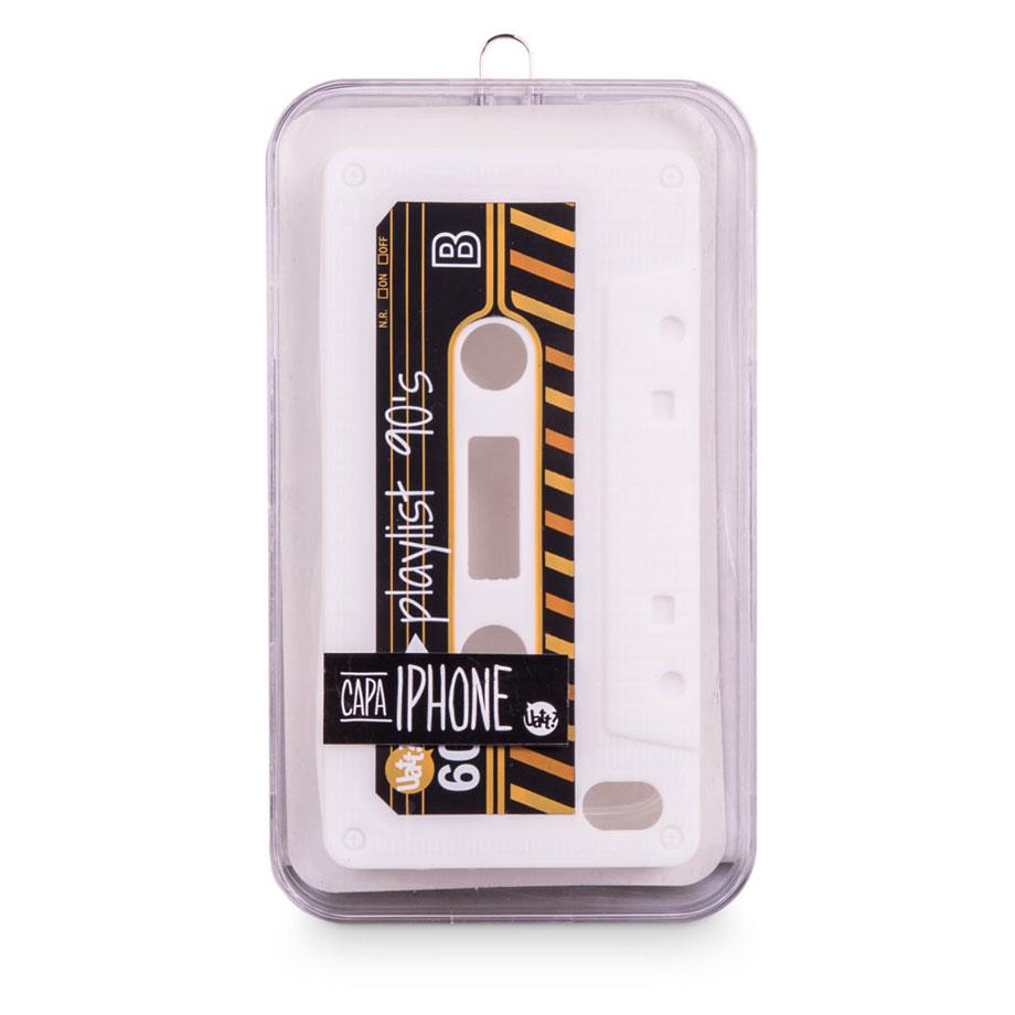 Capa para celular iphone 4 divertida - Fita k7