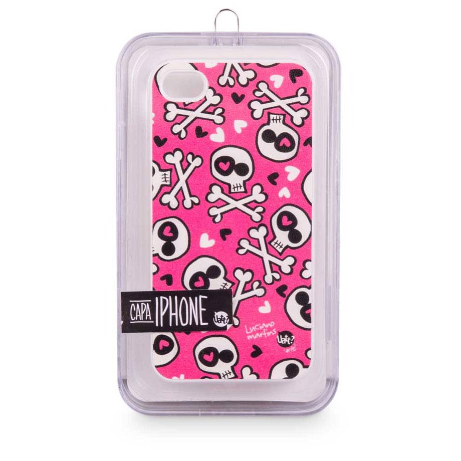 Capa para celular iphone 4 skin - love punk