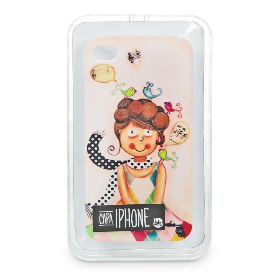 Capa para Celular Iphone 4 Stamp - Serenata