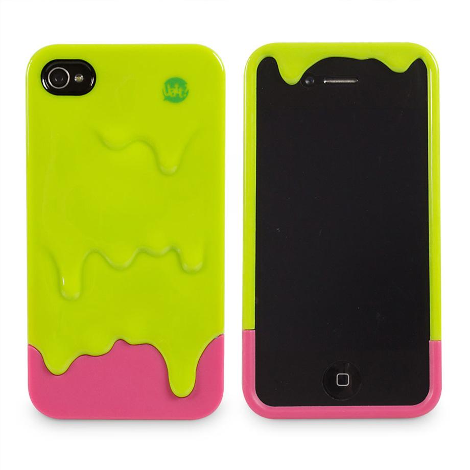 Capa para Celular Iphone 4 Tinta - Verde