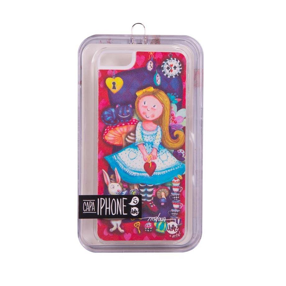 Capa para Celular Iphone 5 5s Skin - Alice
