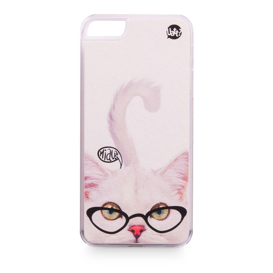 Capa para celular iphone 5 skin - gato
