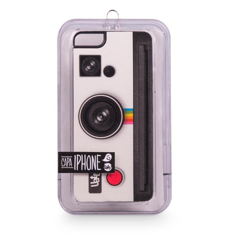 Capa para Celular Iphone 5 5s Skin - Photo Retro