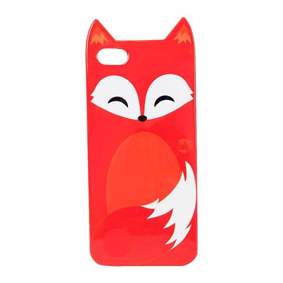 Capa para Iphone 5 e 5s Animal Raposa
