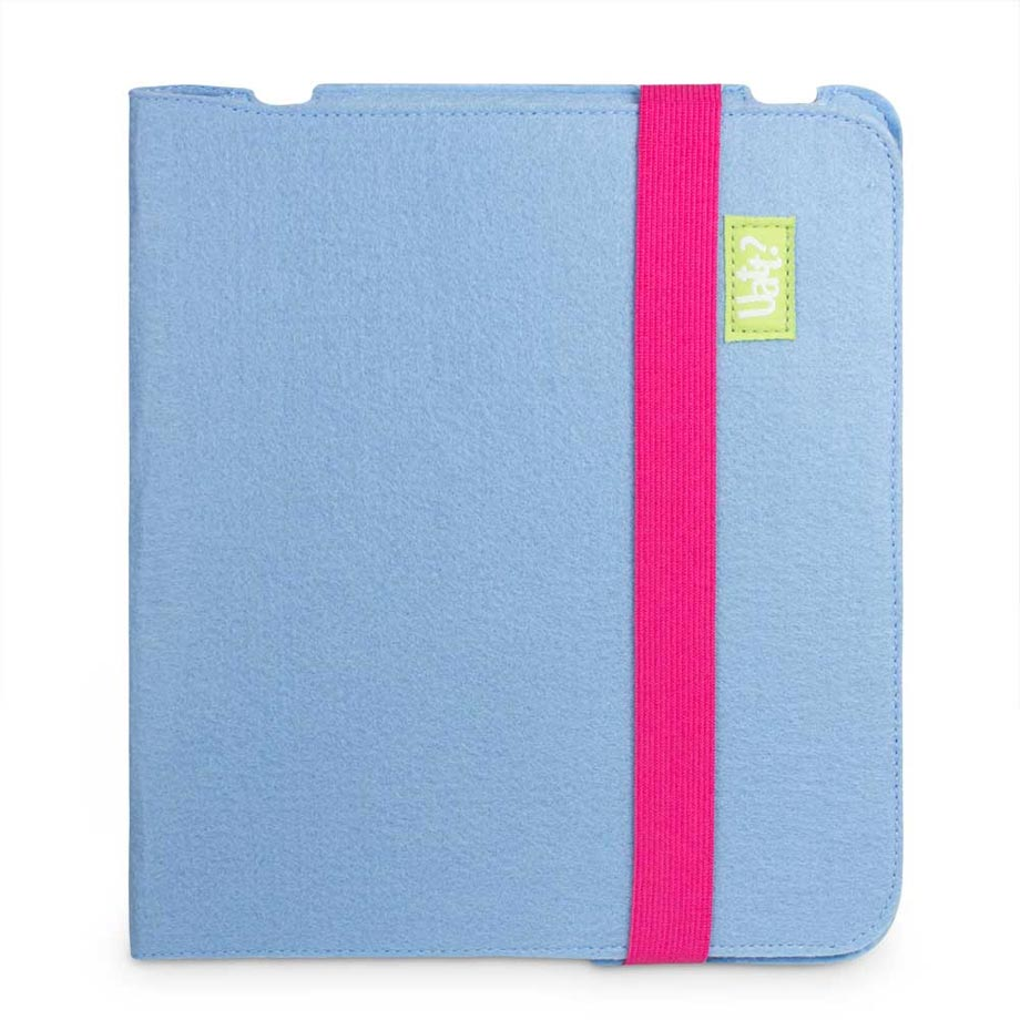 Capa para Tablet Ipad Feltro - Azul