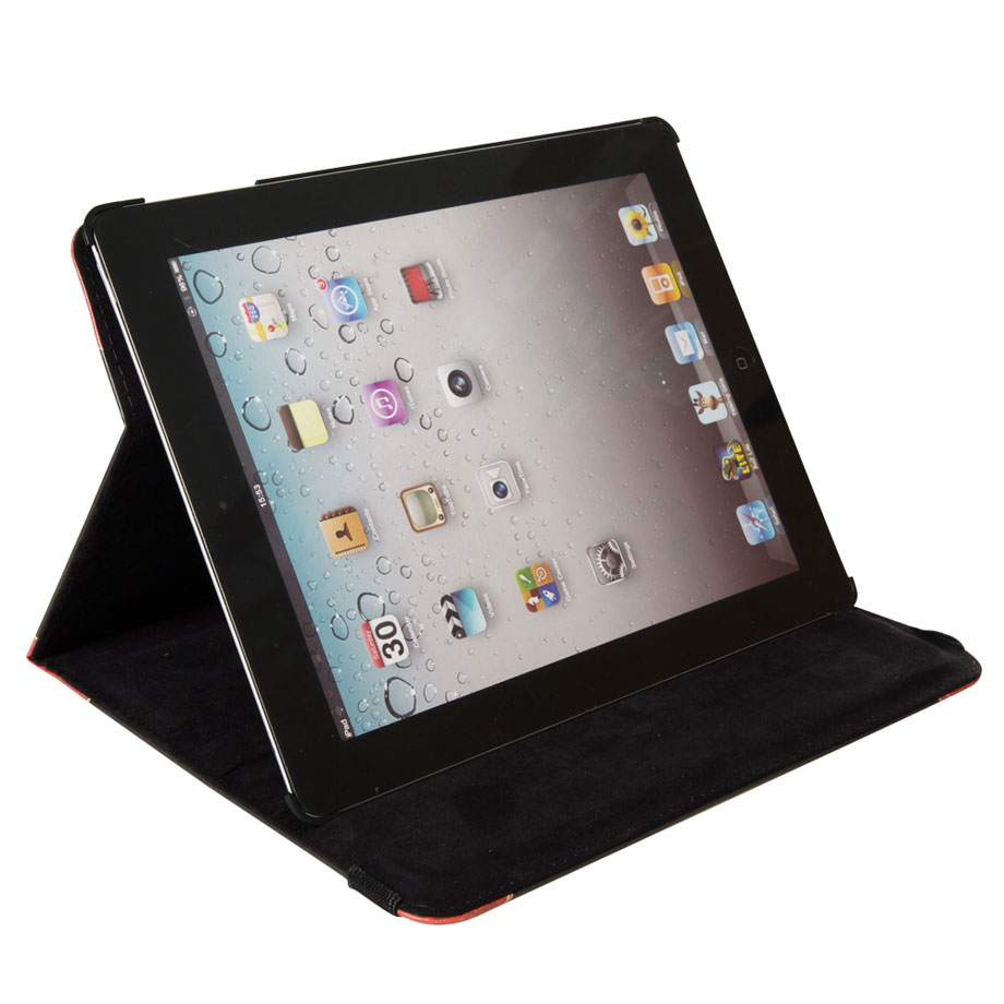 Capa Case Ipad Tablet Smart Livro Book Retro Enciclopad