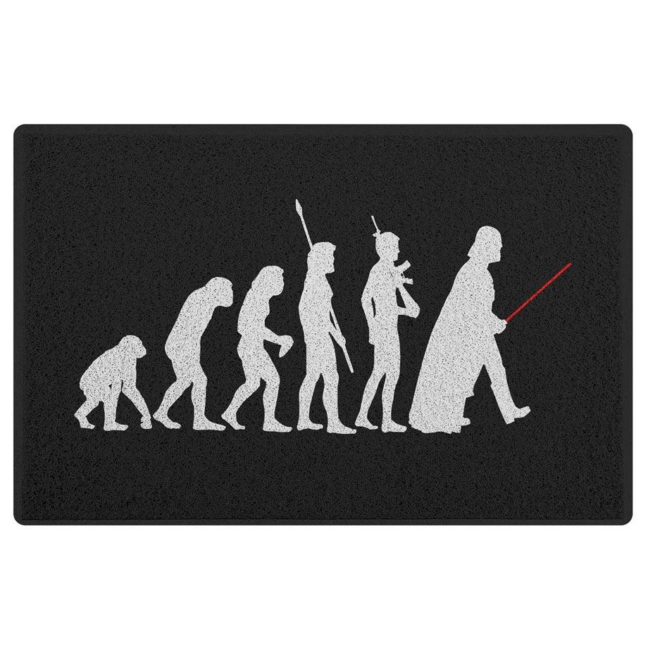 Capacho em Vinil Geek Evolution 60 x 40 cm