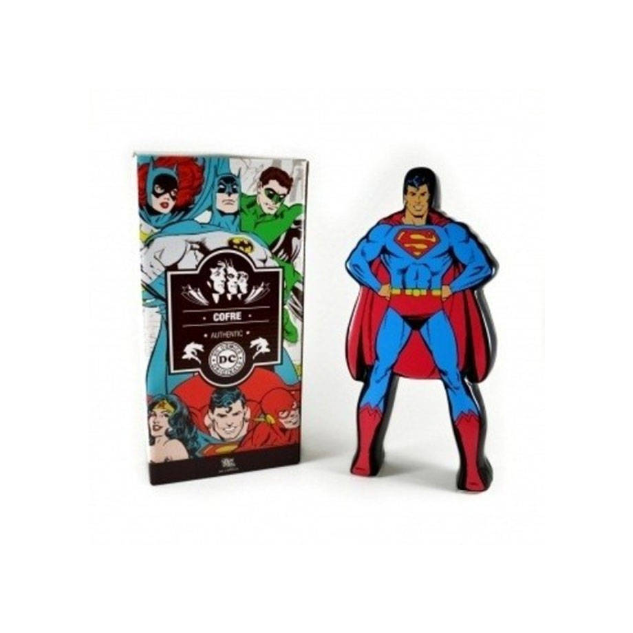 Cofre De Cerâmica Superman Dc Comics Licenciado Hq Quadrinhos