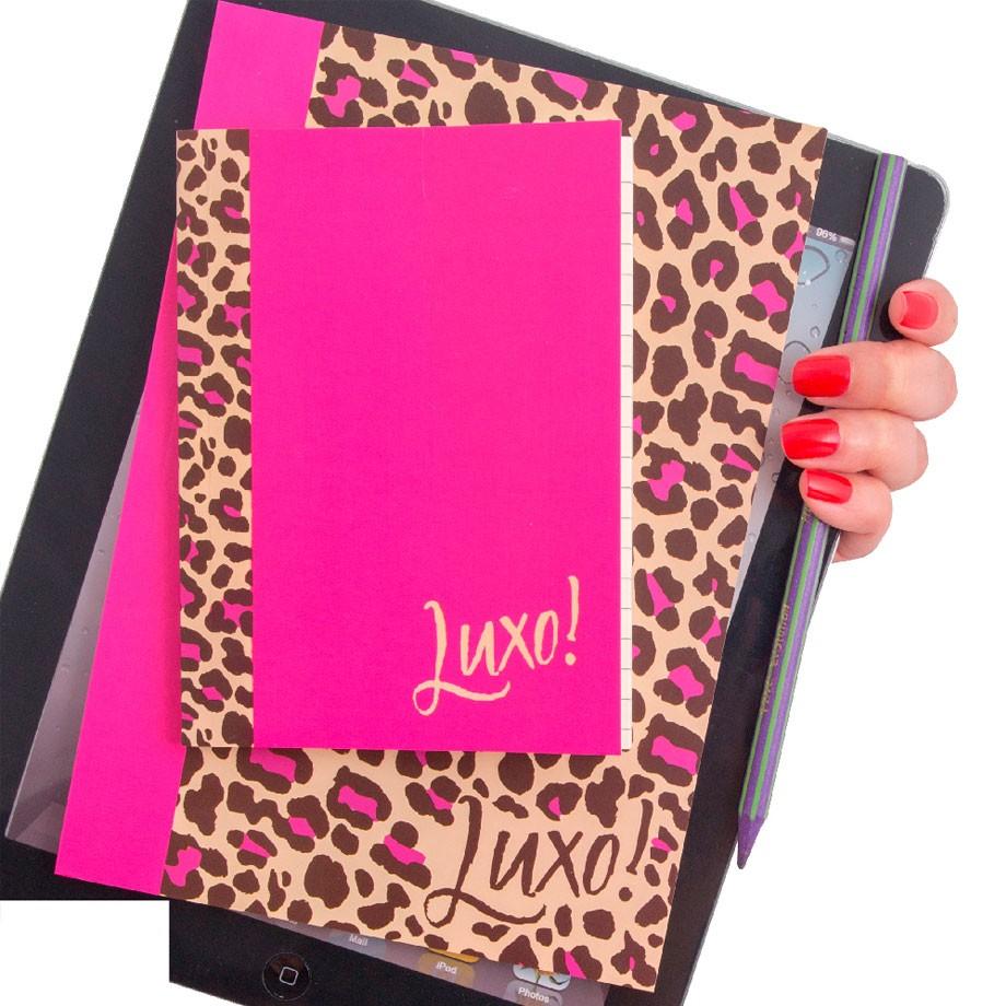 Conjunto Caderno e Caderneta Luxo