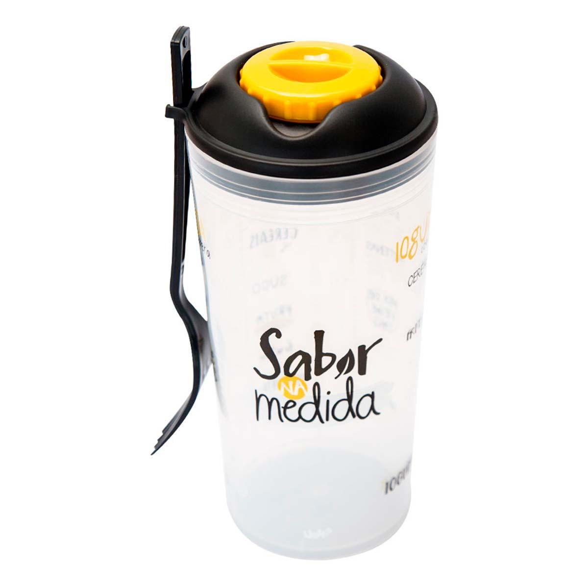 Copo para Salada e Frutas com Garfo - Sabor na Medida