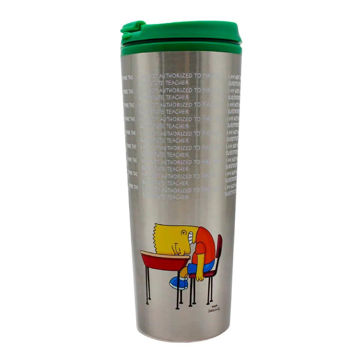 Copo Para Viagem Bart Lousa Os Simpsons 450 ml