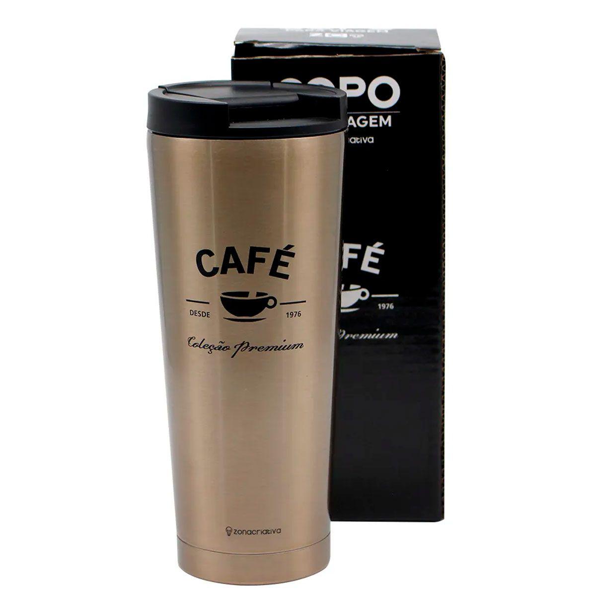 Copo Para Viagem Café Premium 400 ml