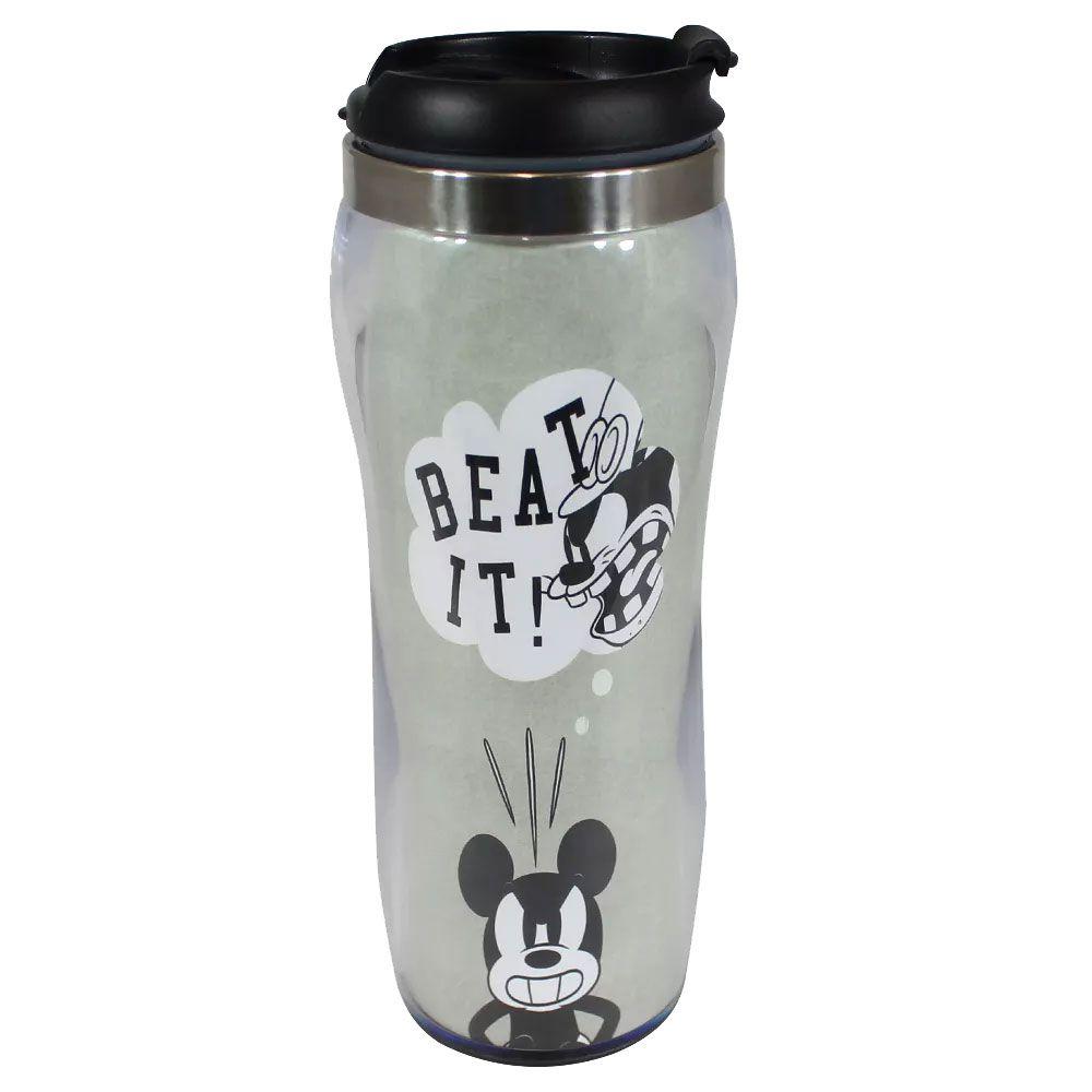 Copo para Viagem Silhueta Mickey