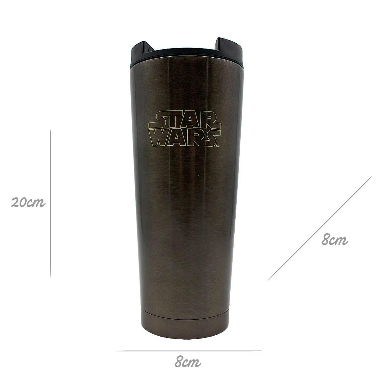 Copo Para Viagem Star Wars Galáxia 400 ml